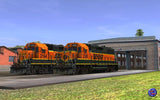 BNSF GP38-2 Pumpkins (2 Pack)