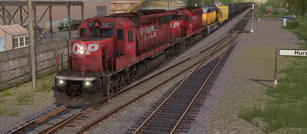 CP SD40-2 #5865-5879 Dual Flags