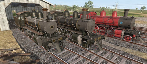 Victorian Railways V499 - Baldwin Built