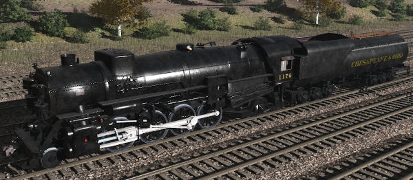 Chesapeake & Ohio K2 2-8-2