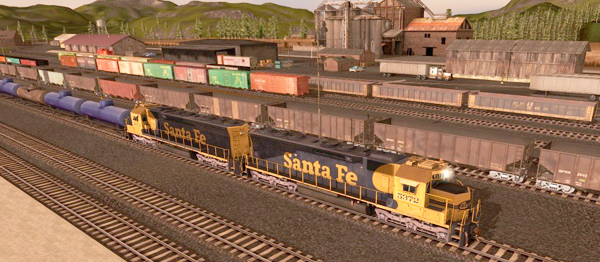 Trainz Route: Kickstarter County (TANE)
