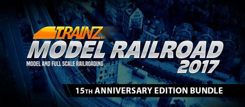 Trainz Model Railroad 2017 - 15th Anniversary Bundle