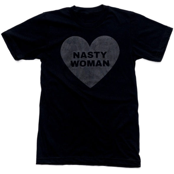 All Black Nasty Woman Shirt - Shrill Society