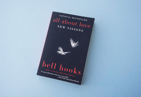 """All About Love: New Visions"" book by bell hooks"