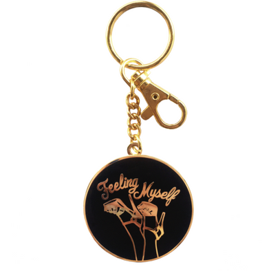 Feeling Myself Keychain by Geneva Diva - Shrill Society