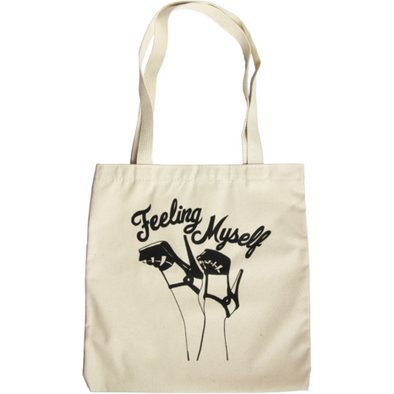 Feeling Myself Tote Bag by Geneva Diva - Shrill Society