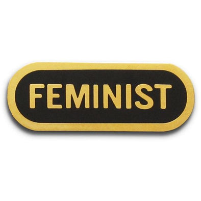 Feminist Pin by Word For Word Factory - Shrill Society