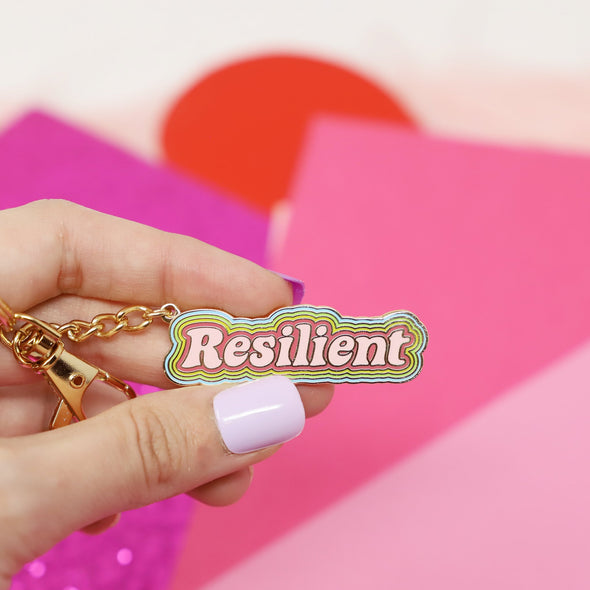 Resilient Keychain by Made Au Gold - Shrill Society