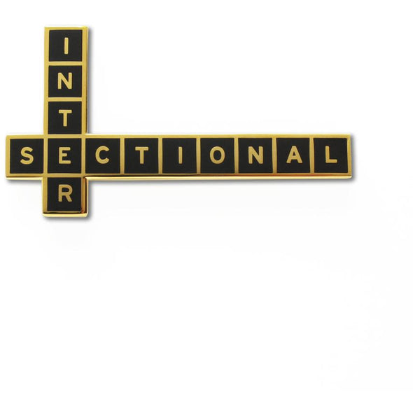 Intersectional Feminist Pin by Word For Word Factory - Shrill Society