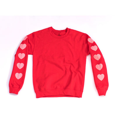 Heart Sleeve Sweatshirt by REDWOLF - Shrill Society