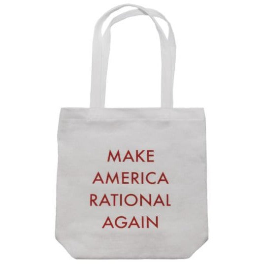 Make America Rational Again Tote Bag - Shrill Society