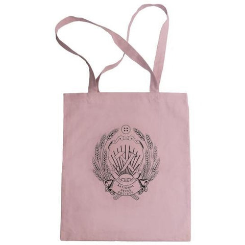 Rational Dress Society Millennial Pink Tote Bag