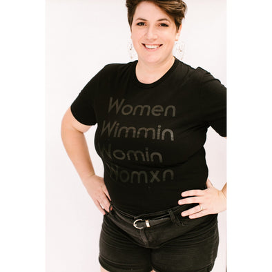 Womxn Shirt by Modern Women - Shrill Society