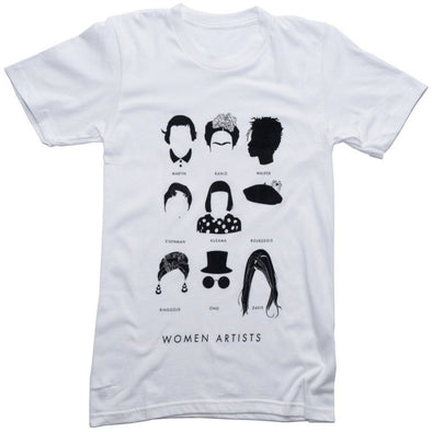 Women Artists Shirt by Stephanie Boyd-Berks - Shrill Society
