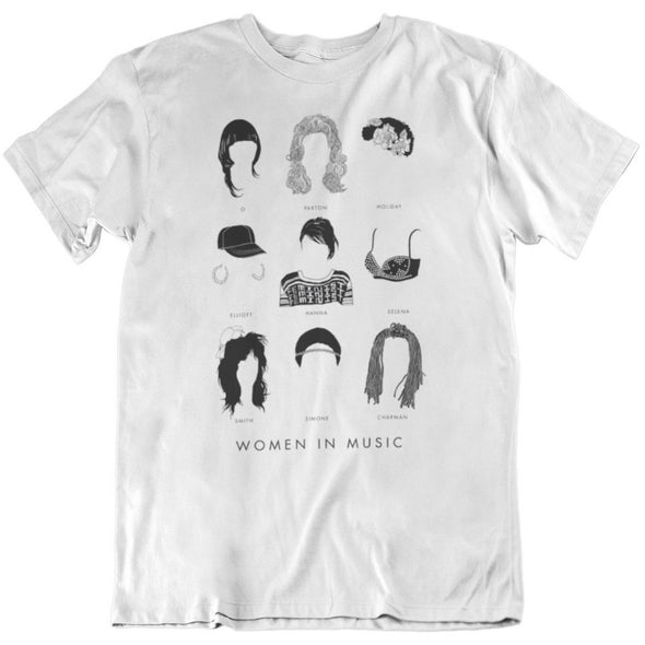 Women in Music Shirt by Stephanie Boyd-Berks - Shrill Society