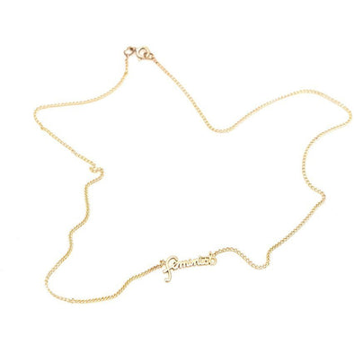 Leah Ball Feminist Necklace - Shrill Society