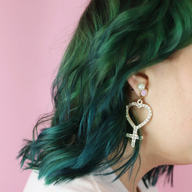 Venus earrings by Made Au Gold - Shrill Society