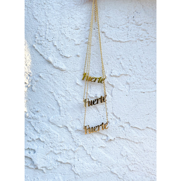 FUERTE NECKLACE BY JEN ZEANO - Shrill Society