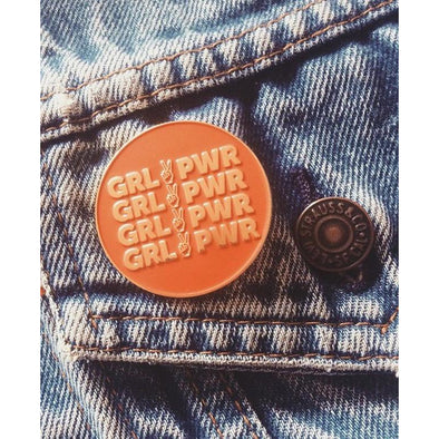 GRL PWR Pin by REDWOLF - Shrill Society