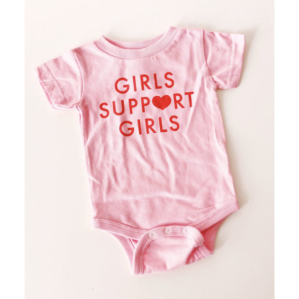 Girls Support Girls Onesie by Daisy Natives - Shrill Society