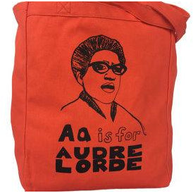 A is for Audre Lorde Tote Bag by Grow Wild Studio - Shrill Society