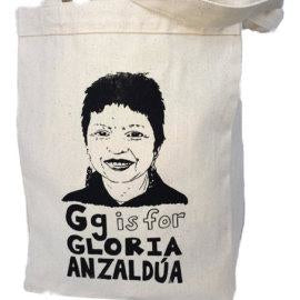 G is for Gloria Anzaldúa Tote Bag by Grow Wild Studio - Shrill Society