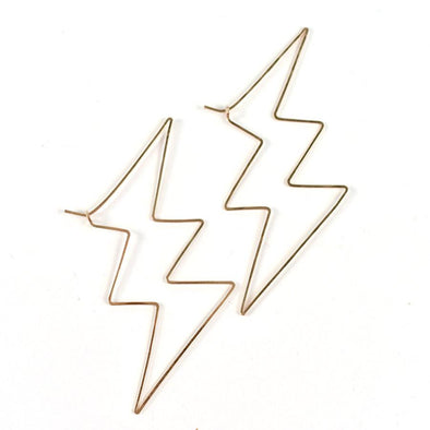 Lightning Earrings by RaHa - Shrill Society