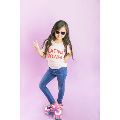 Latina Power Kids shirt by Jen Zeano - Shrill Society
