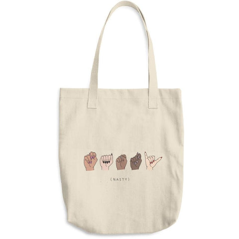 Nasty Woman ASL Tote Bag