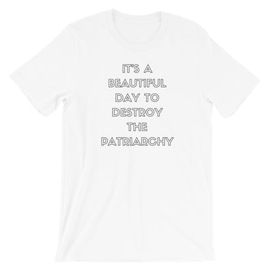 It's A Beautiful Day To Destroy The Patriarchy Shirt - Shrill Society