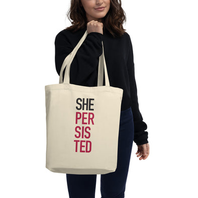 She Persisted Eco Tote Bag - Shrill Society