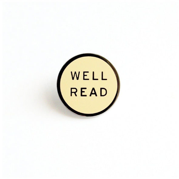 Well Read Pin by Word For Word Factory - Shrill Society
