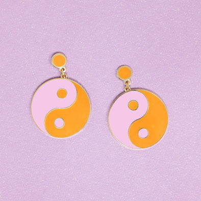 Ying Yang Earrings by Made Au Gold - Shrill Society