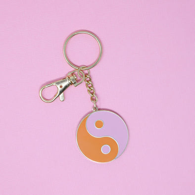 Ying Yang Keychain by Made Au Gold - Shrill Society