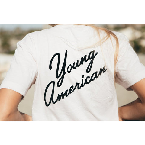 Young American Tee by REDWOLF