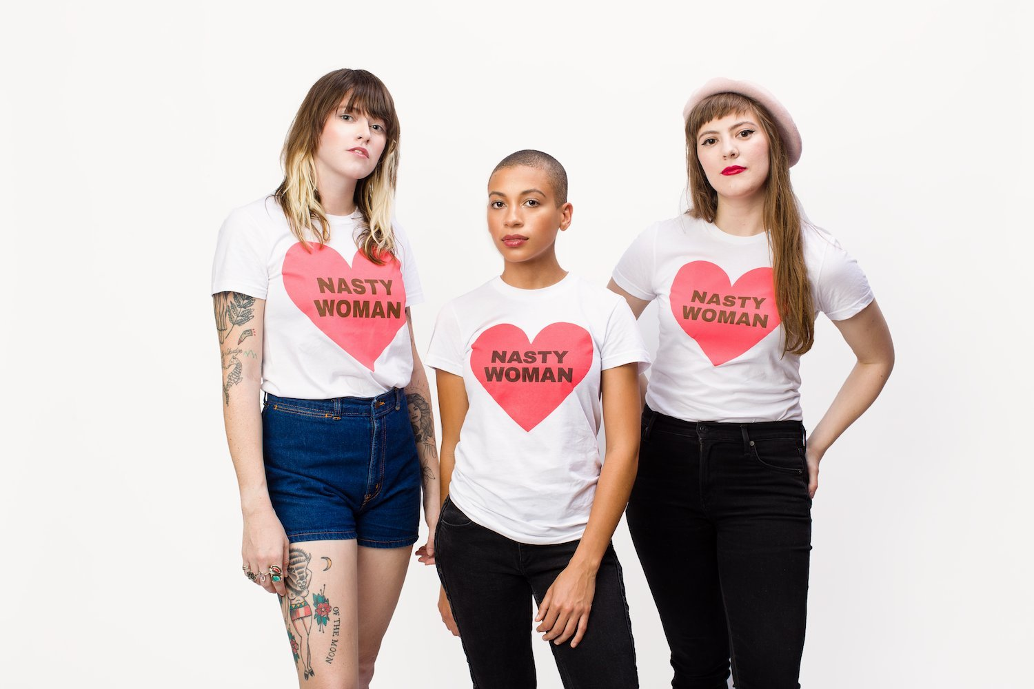 Nasty Woman Planned Parenthood heart shirts