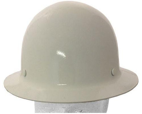 MSA Skullgard Full Brim Safety Hat White with STAZ ON suspension, Head,Accessories - Signsdirect247.com