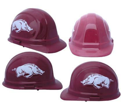 Arkansas Razorbacks Safety Hats, Head - CustomSafetyVests.com