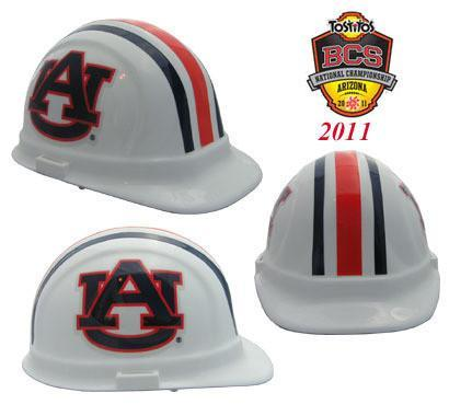 Auburn Tigers Safety Hats, Head - CustomSafetyVests.com