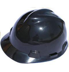 MSA Cap Style Large Jumbo Safety Hats with Staz-On Suspensions Black, Head - Signsdirect247.com