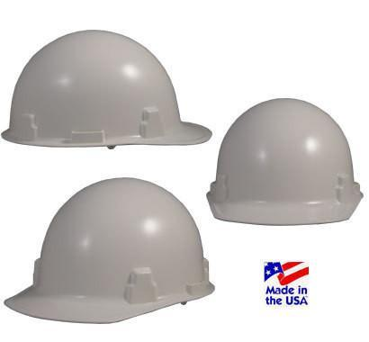 MSA Thermalgard Safety Hats with Fas-Trac Suspension White, Head - Signsdirect247.com