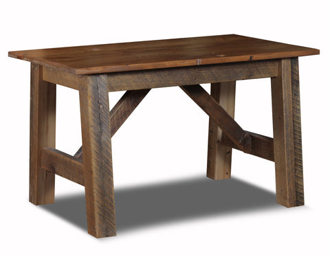 Farmhouse Desk manufactured in the USA with reclaimed wood by reclaimed wood designs