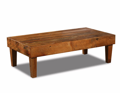 Garnary Collection Collection Coffee table manufactured in the USA with reclaimed wood by reclaimed wood designs