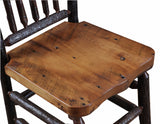 7' dining table w/ molesworth trim detail manufactured in the USA with reclaimed wood by reclaimed wood designs