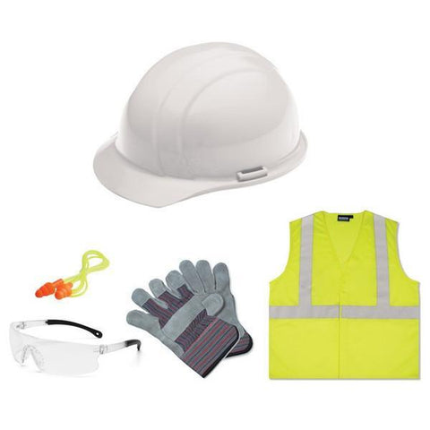 Safetyhats.com   Safety Construction Accessories New Hire Kit Smoke lens,  S362 L, New Hire Safety Kits - Signsdirect247.com
