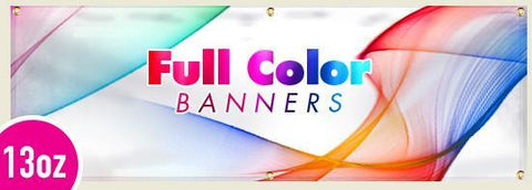13 oz Full Color Digitally Printed Banners single sided, with Wind Slits 3 day production, Signs and Banners - Signsdirect247.com