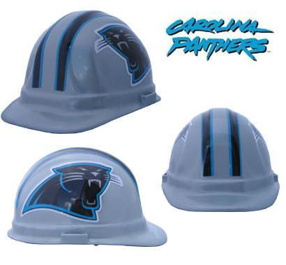 Carolina Panthers NFL Safety Hats, Head - CustomSafetyVests.com