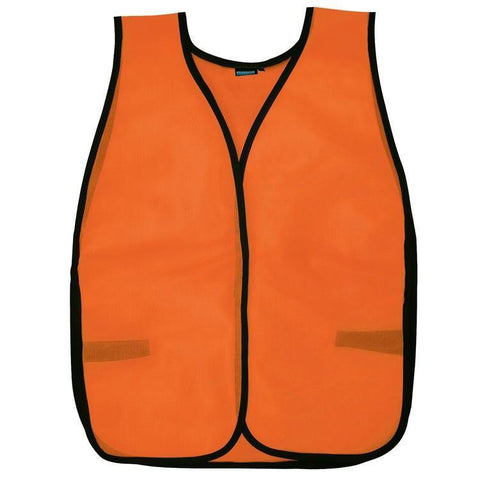 Custom Safety Vests | Safety Vest | S19 | Mesh | Hi Viz Orange, Safety Apparel - Aware Wear & Hi Viz Ts - Signsdirect247.com