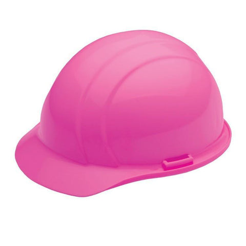 Head Protection Americana Mega Ratchet Hi Viz Pink, Head Protection - Signsdirect247.com