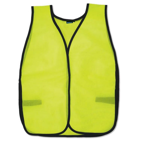 Custom Safety Vests | Safety Vest | S19 | Mesh | Hi Viz Lime, Safety Apparel - Aware Wear & Hi Viz Ts - Signsdirect247.com